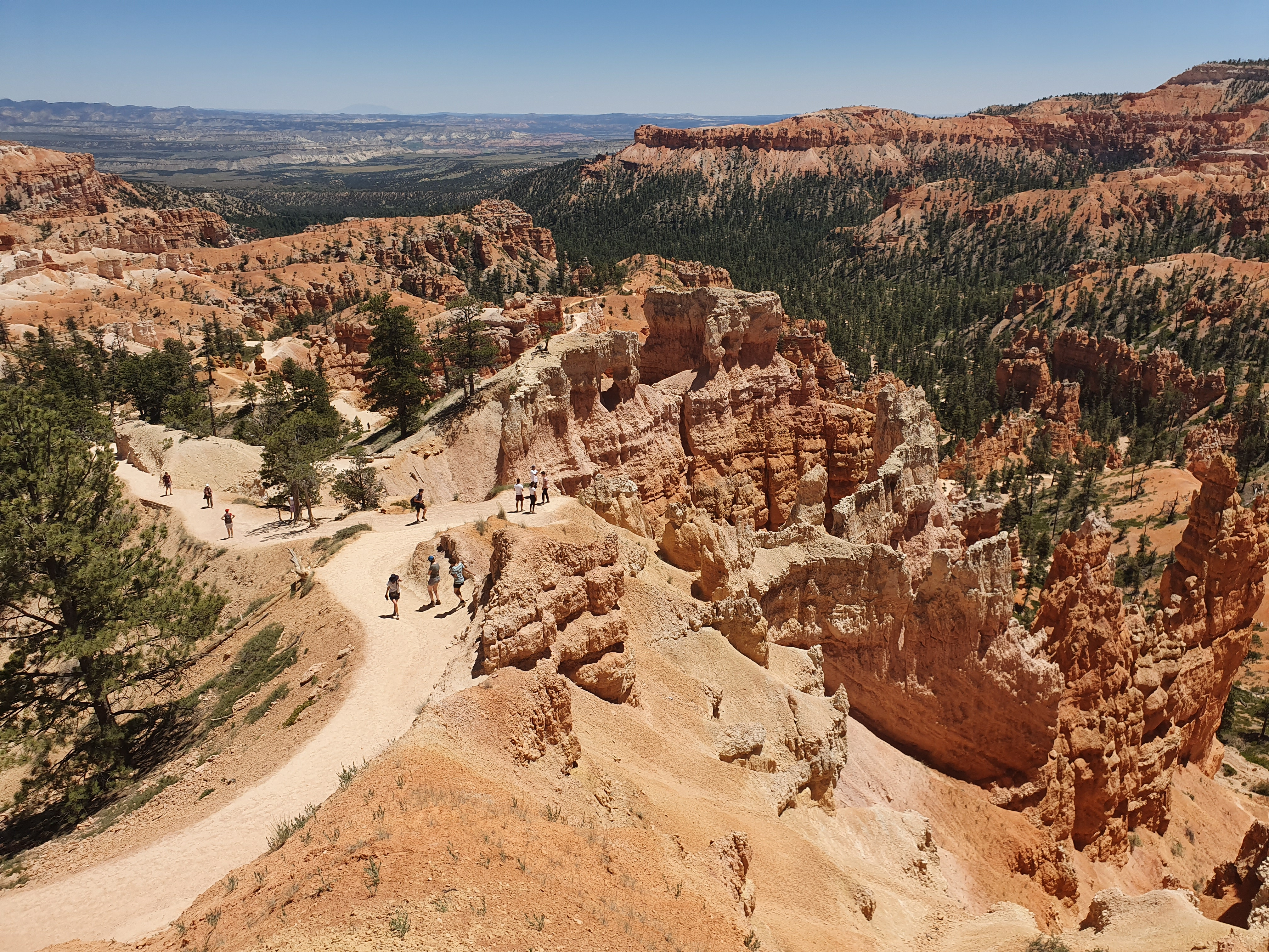 hiken national park bryce canyon
