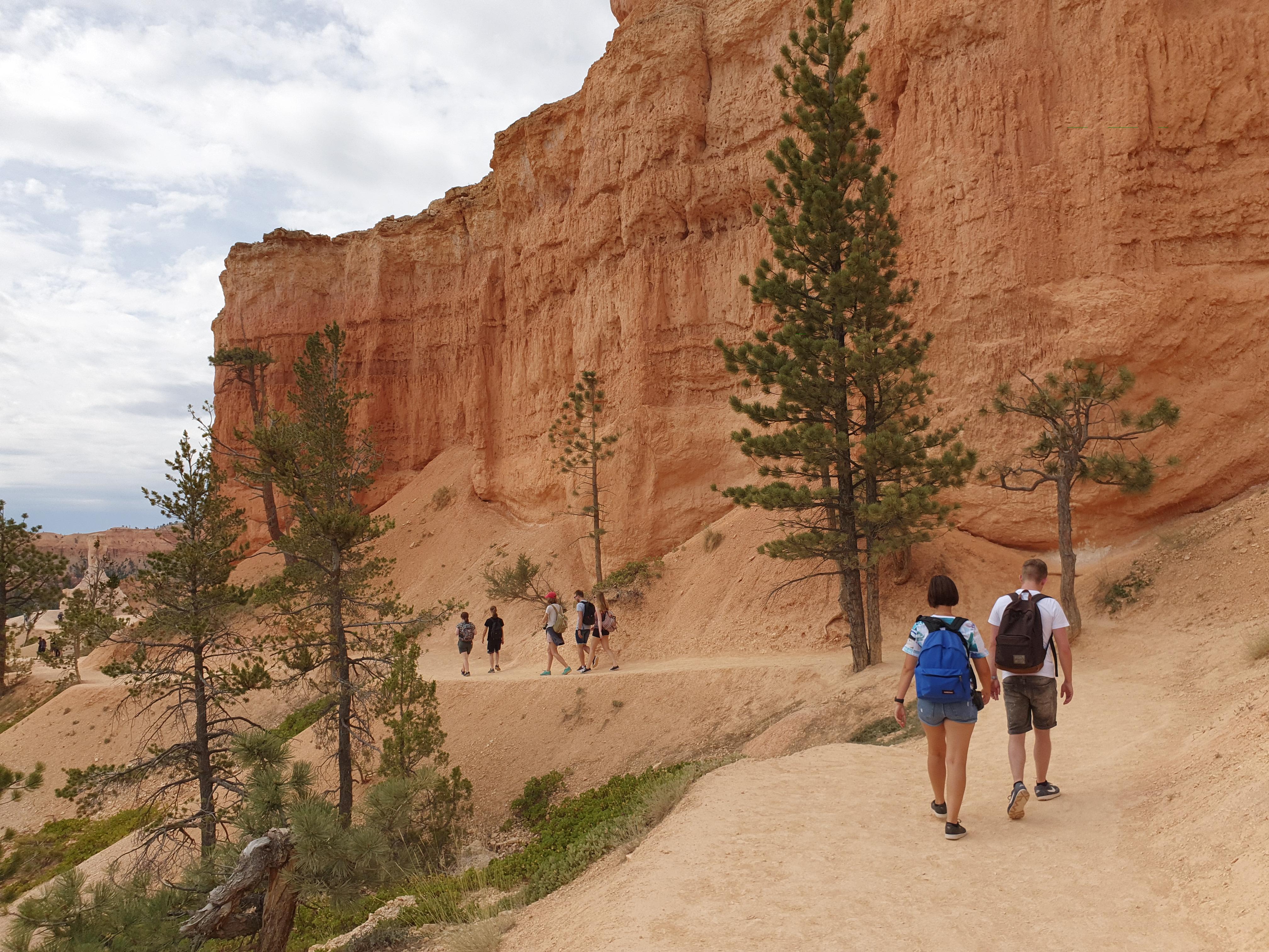 Hiken Bryce Canyon Utah