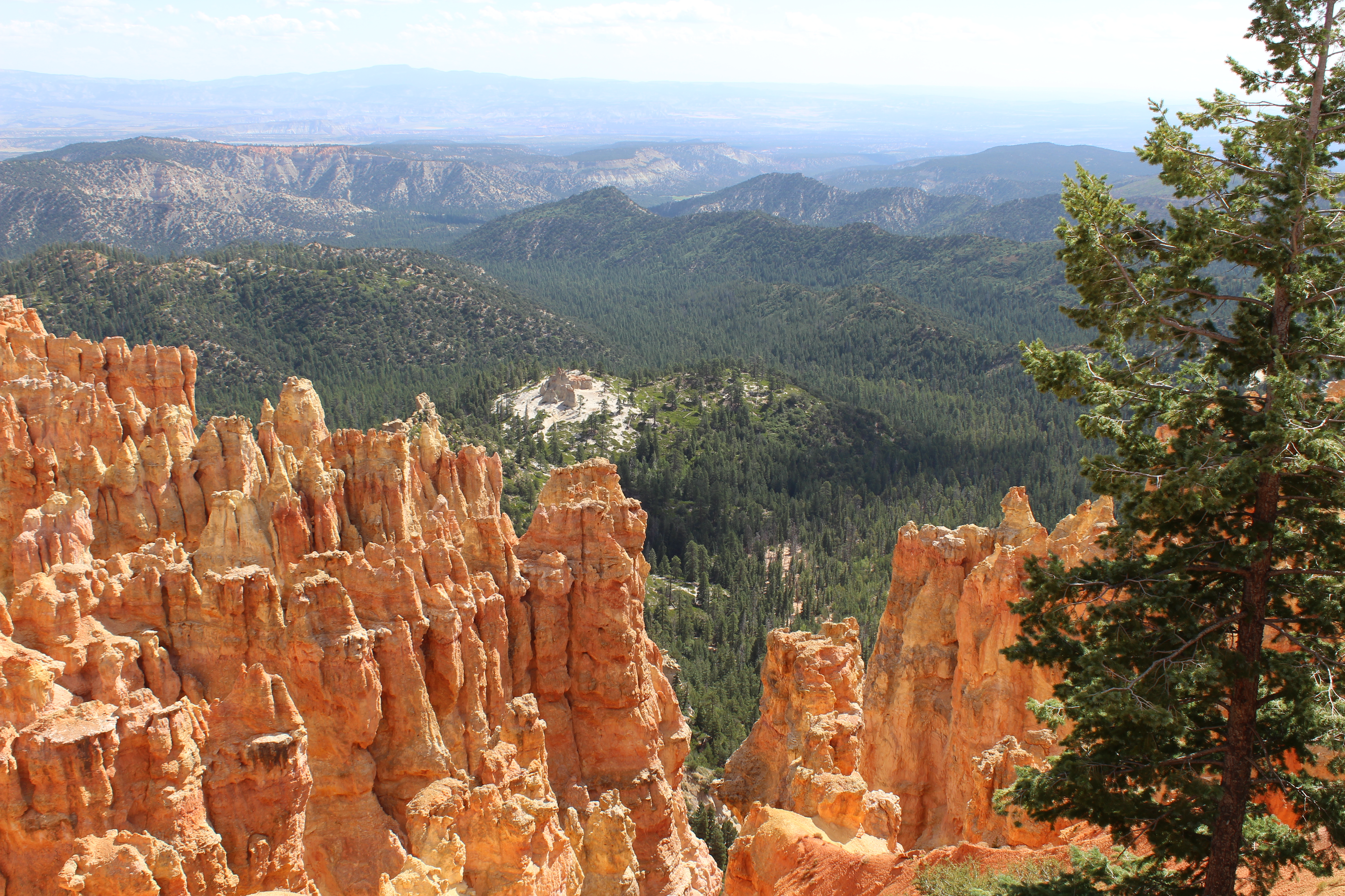 Rijden door Bryce Canyon National Park