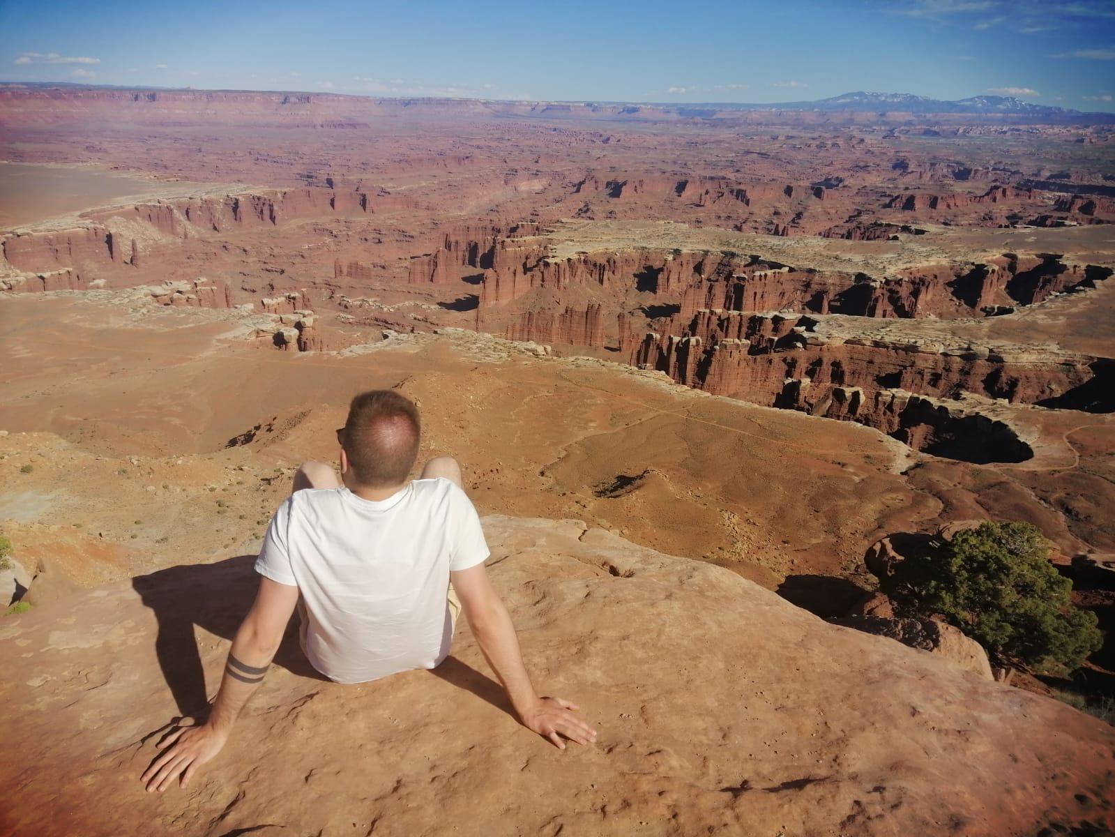 canyonlands uitzicht