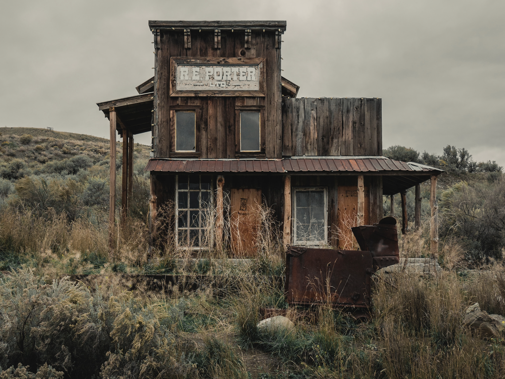 ghost town montana