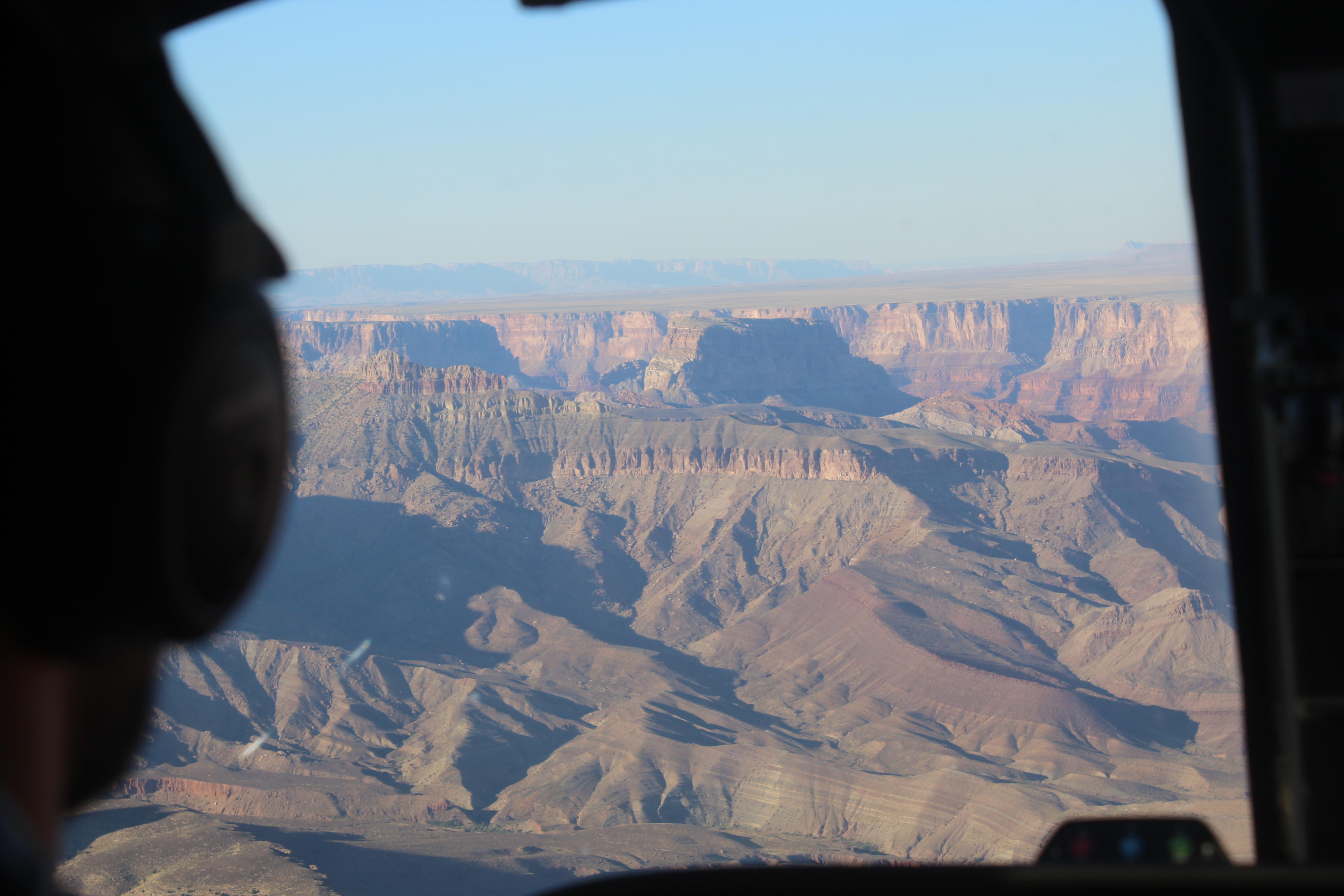 Grand Canyon np helikopter