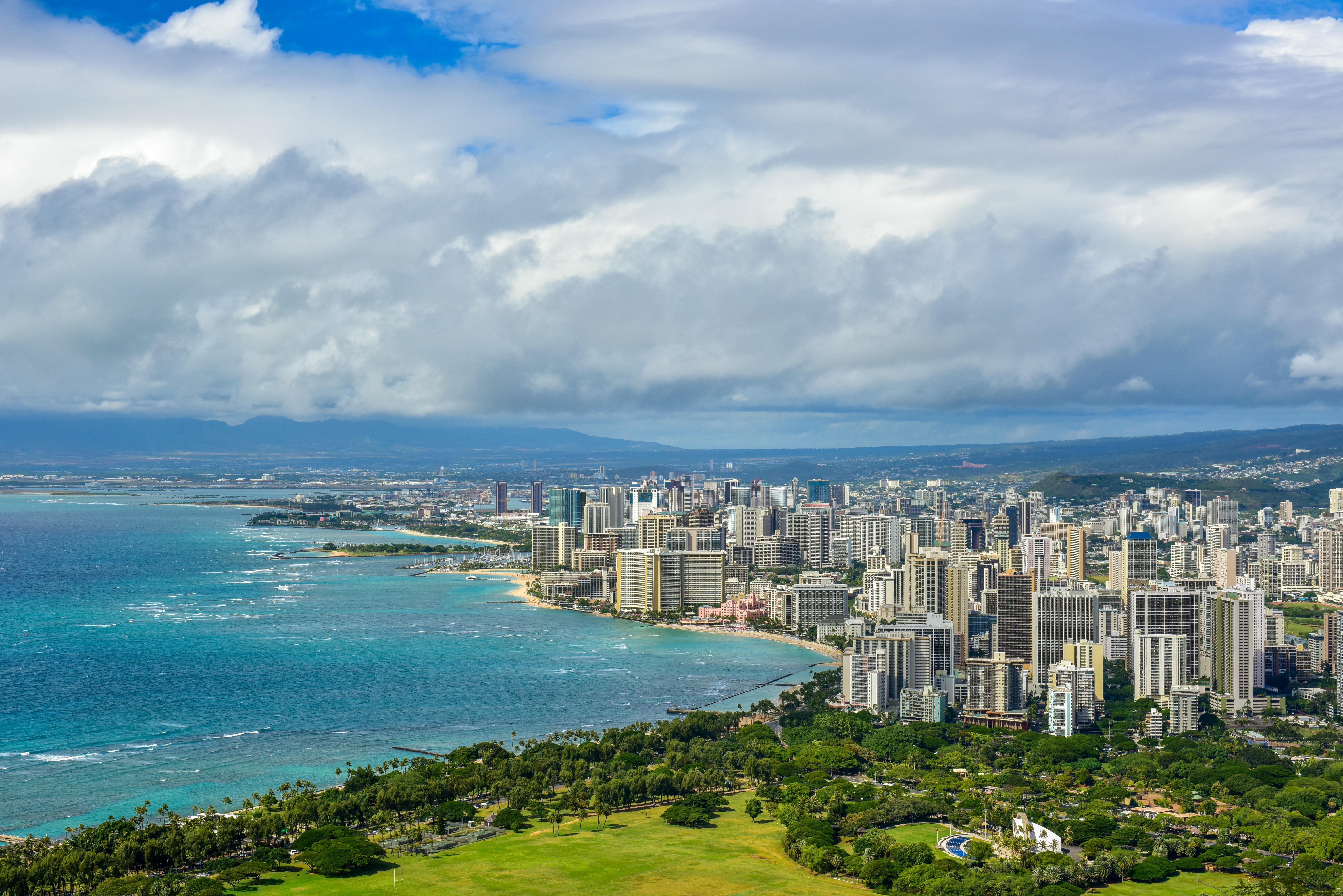 Honolulu stad