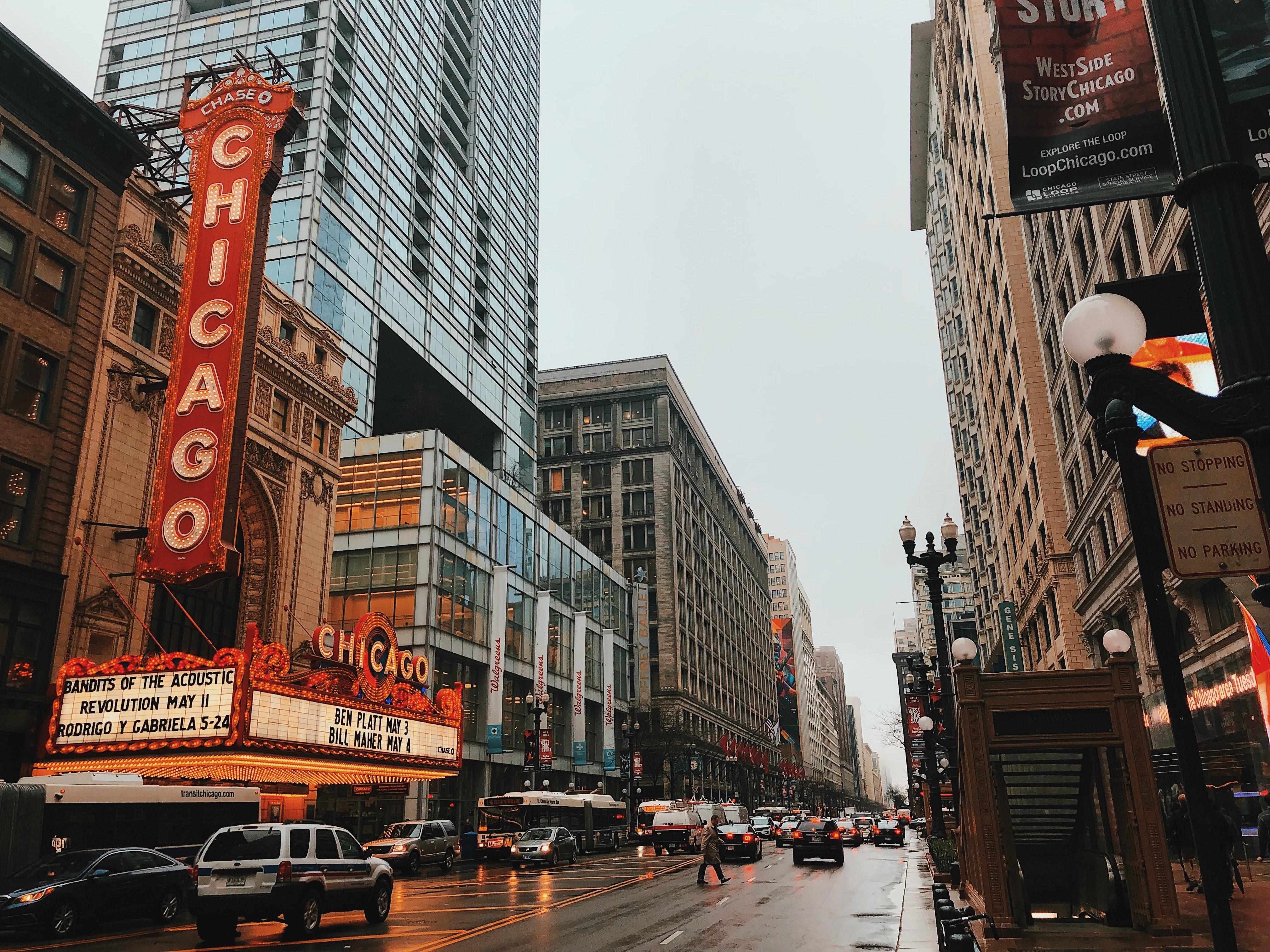 Chicago, startpunt Route 66