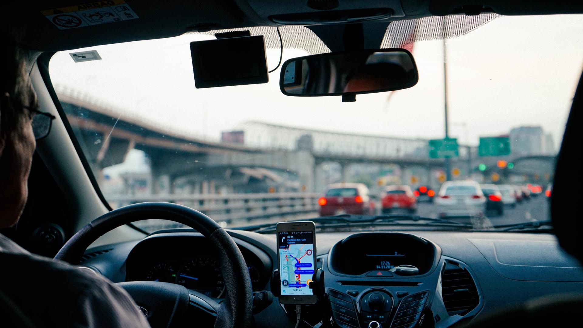 Uber of Lyft gebruiken in de VS
