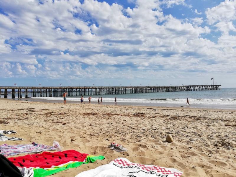 Het strand meepakken
