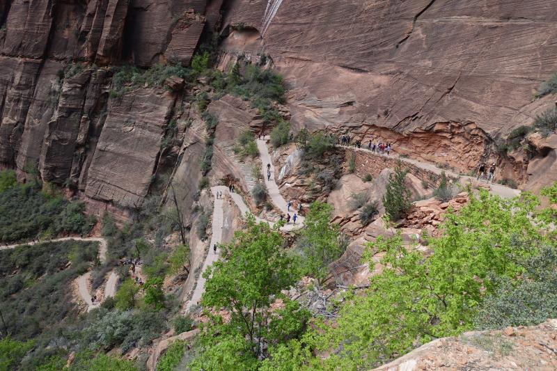 Angels Landing Hike - Zion NP