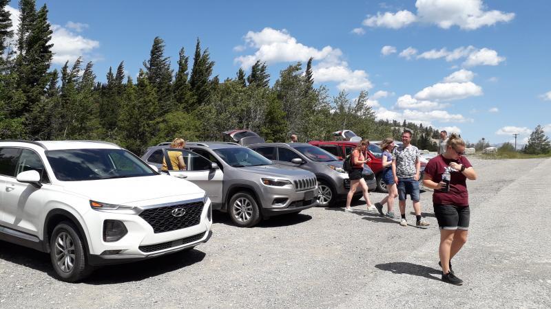 Roadtrip Canada - voorbeeld SUV's