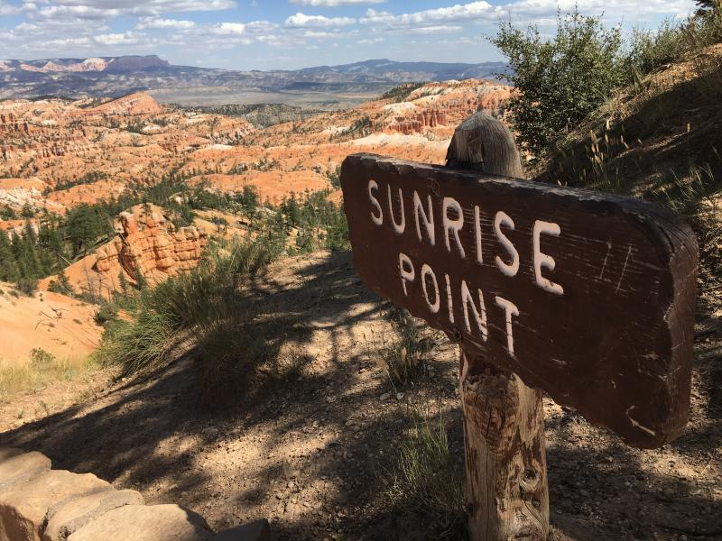 Sunrise Point in Bryce Canyon