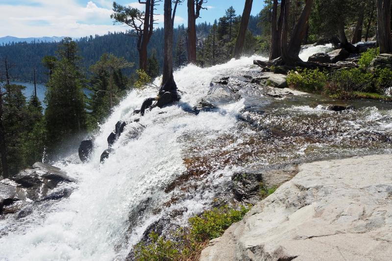 Bijzondere waterval in Californië
