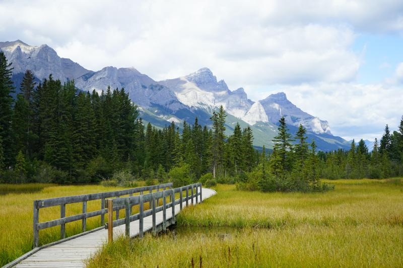 Canmore omgeving