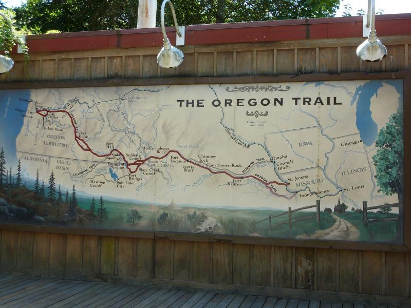 Casper, stop van de Oregon Trail vroeger