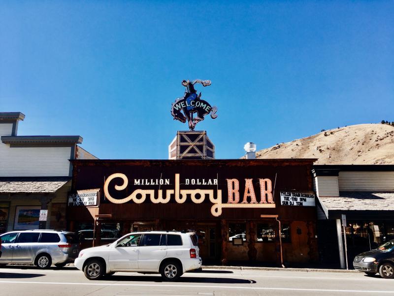 Cowboy Bar, Jackson Hole