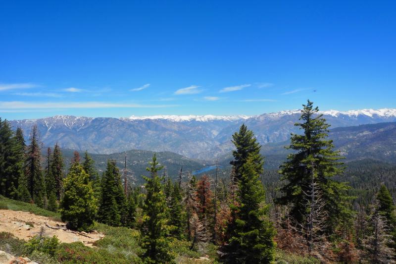 De prachtige natuur van Californie