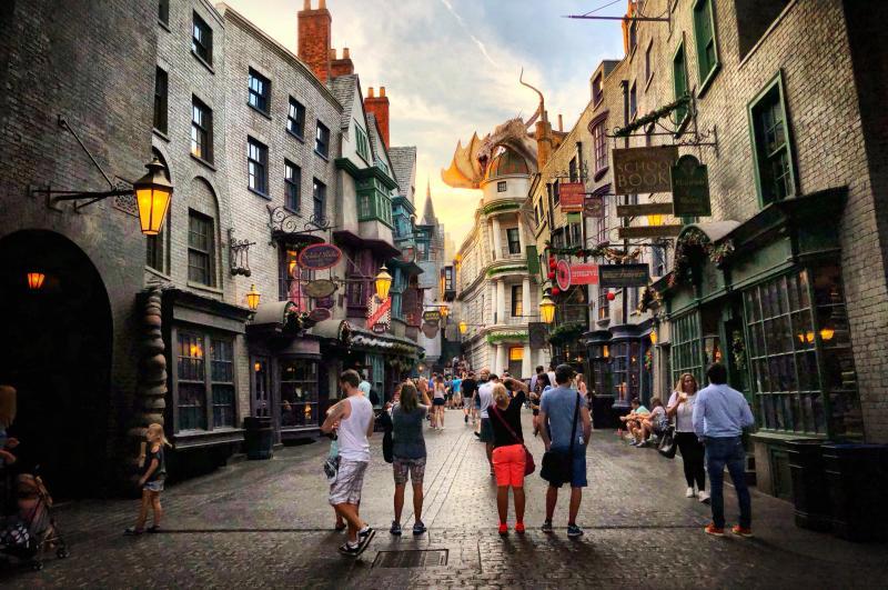 Deep South Amerika - Universal Studios Orlando