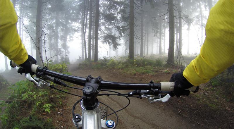 Elektrisch mountainbiken