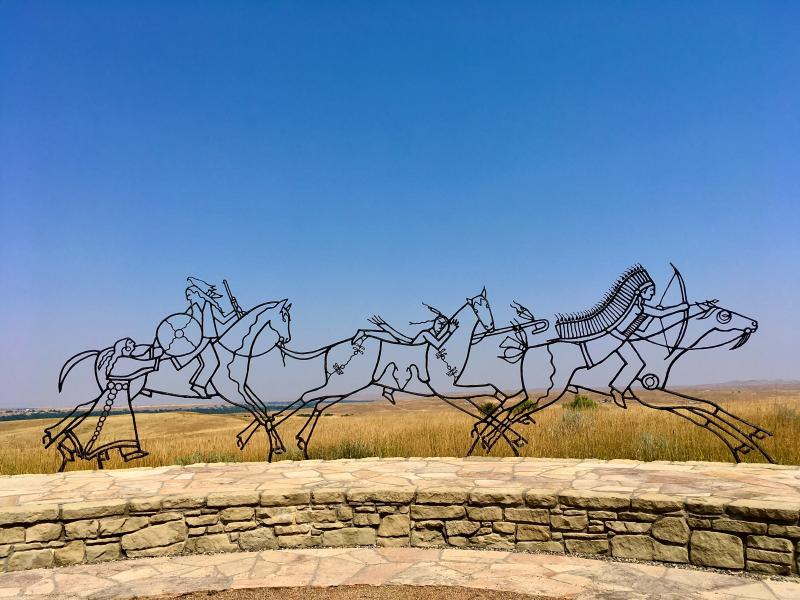 Little Bighorn Monument