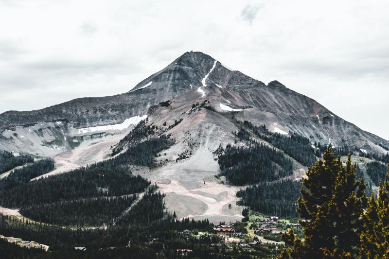 Natuur bij Big Sky, Montana