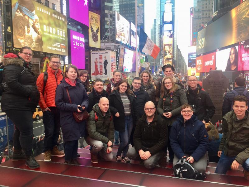 New York groepsfoto
