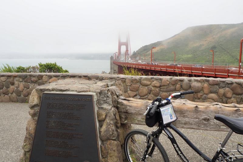 Oer de Golden Gate Bridge fietsen in San Francisco