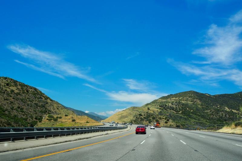 Road trip, Californië