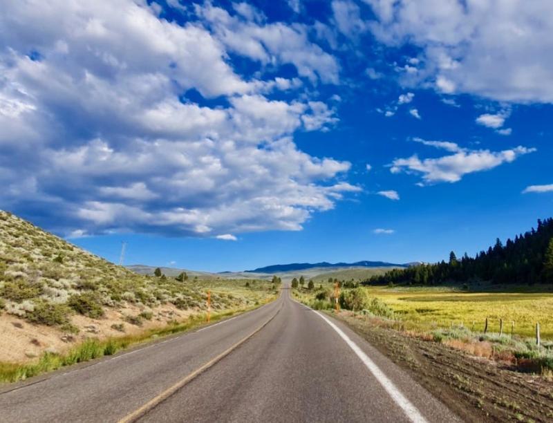 Road trip door Californië