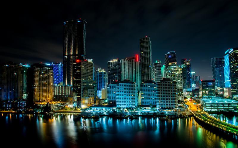 Road trip zuiden Amerika - Florida by night