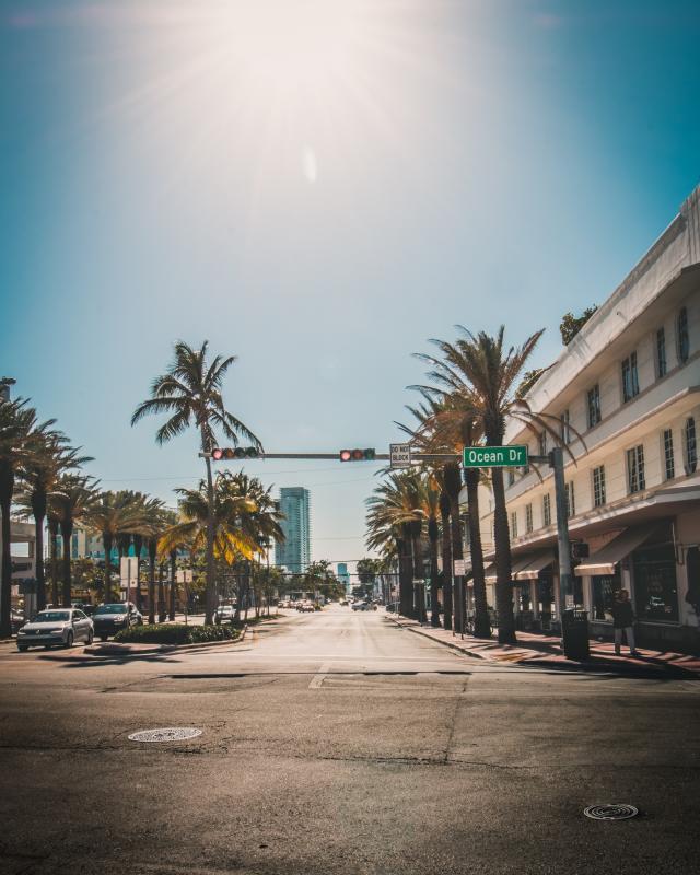 Road trip zuiden Amerika - Ocean Drive, Miami
