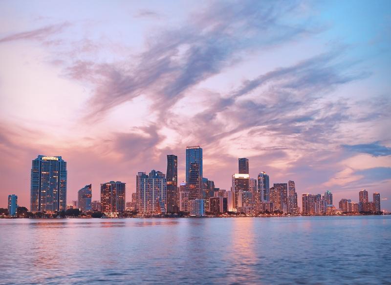 Rondreis zuiden Amerika - Miami skyline