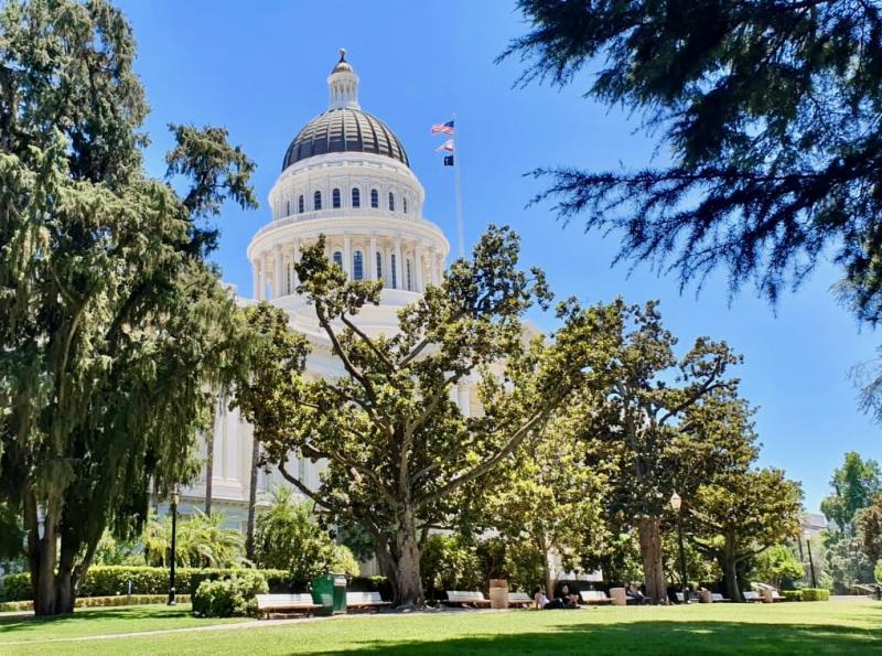Sacramento, hoofdstad van Californie