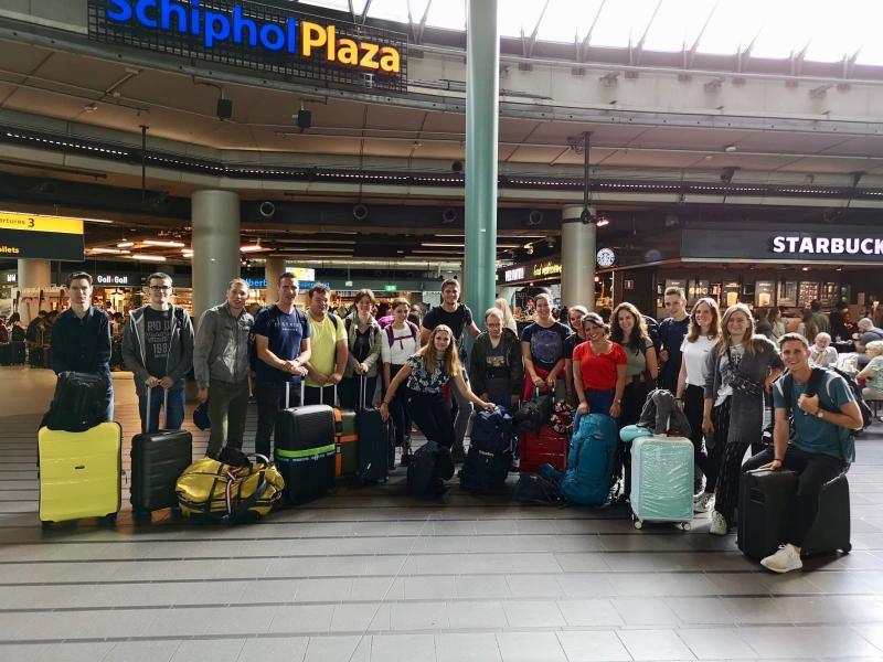 Samen vliegen vanaf Schiphol