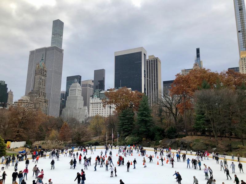 Schaatsen Central Park