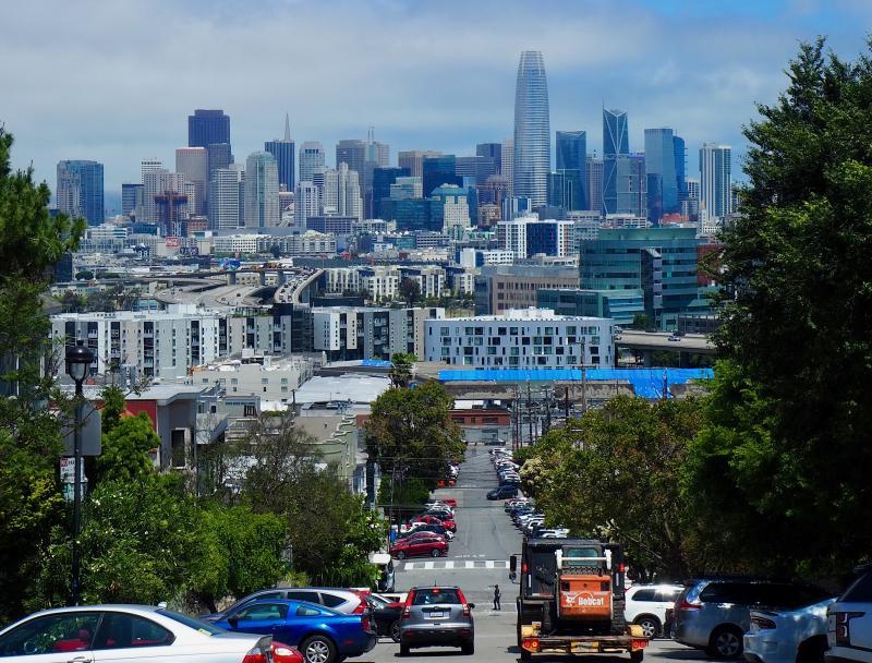 Steden bezoeken in Californië