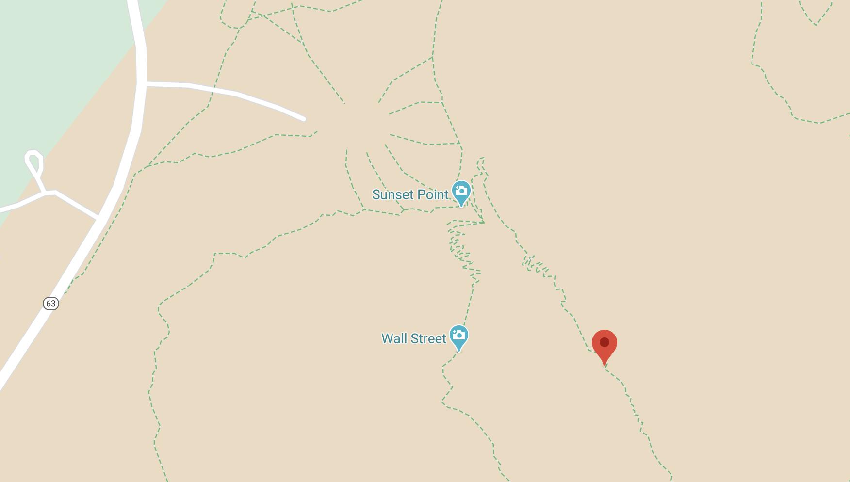 Bryce Navajo loop trail