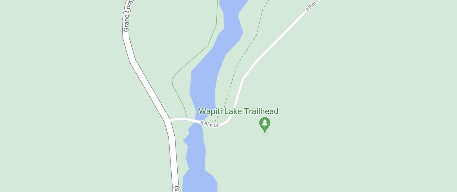 wapiti lake